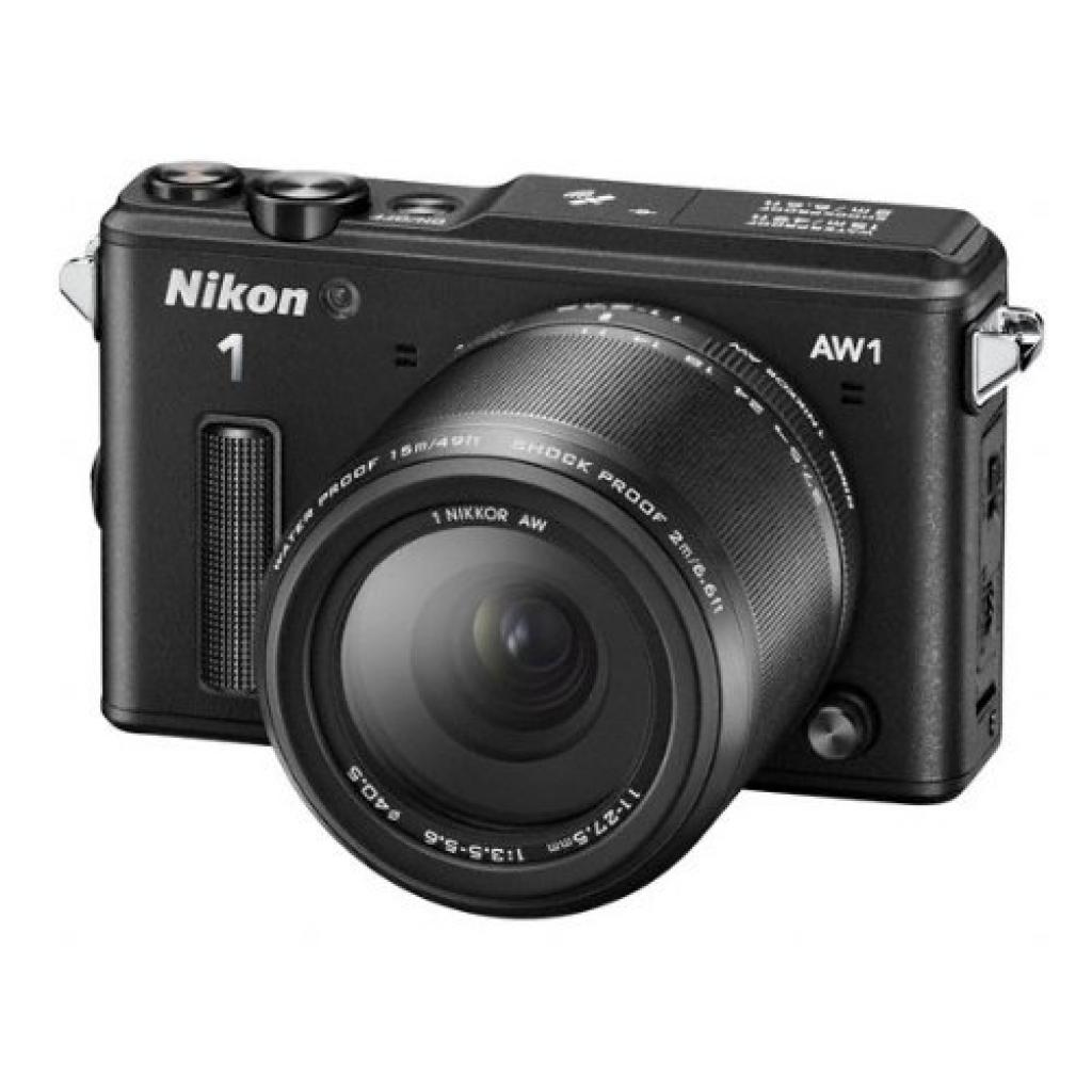 Цифровой фотоаппарат Nikon 1 AW1 black 11-27.5mm AW kit (VVA201K001)