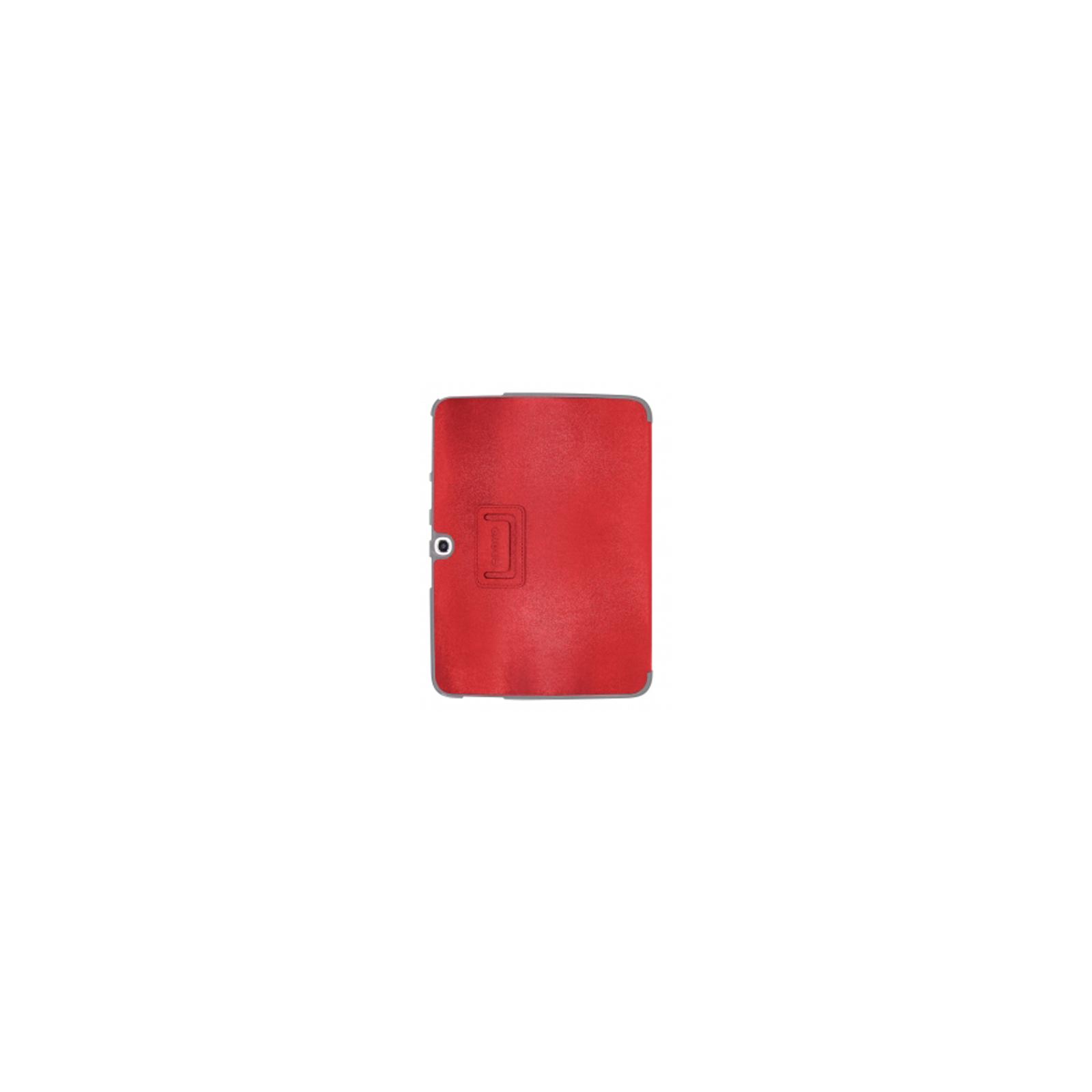Чехол для планшета ODOYO Galaxy TAB3 10.1 /GLITZ COAT FOLIO BLAZING RED (PH625RD) изображение 2