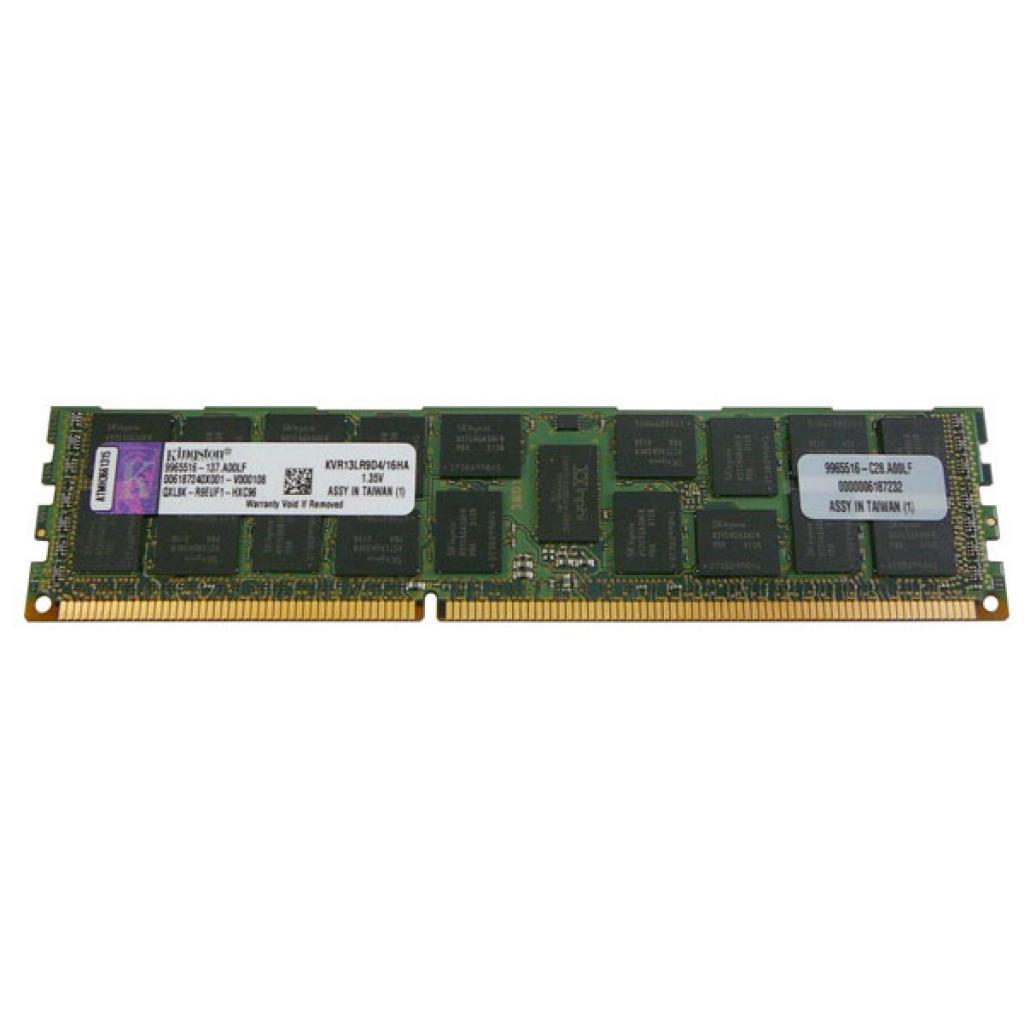Модуль памяти для сервера DDR3 16GB Kingston (KVR13LR9D4/16)
