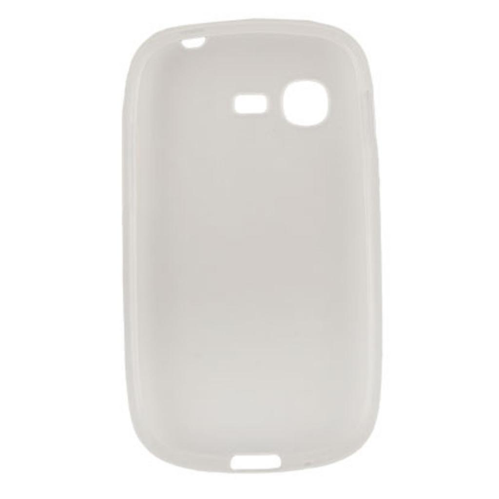 Чехол для моб. телефона Drobak для Samsung S5312 Galaxy Pocket Neo /Elastic PU/White Clear (216044) изображение 2