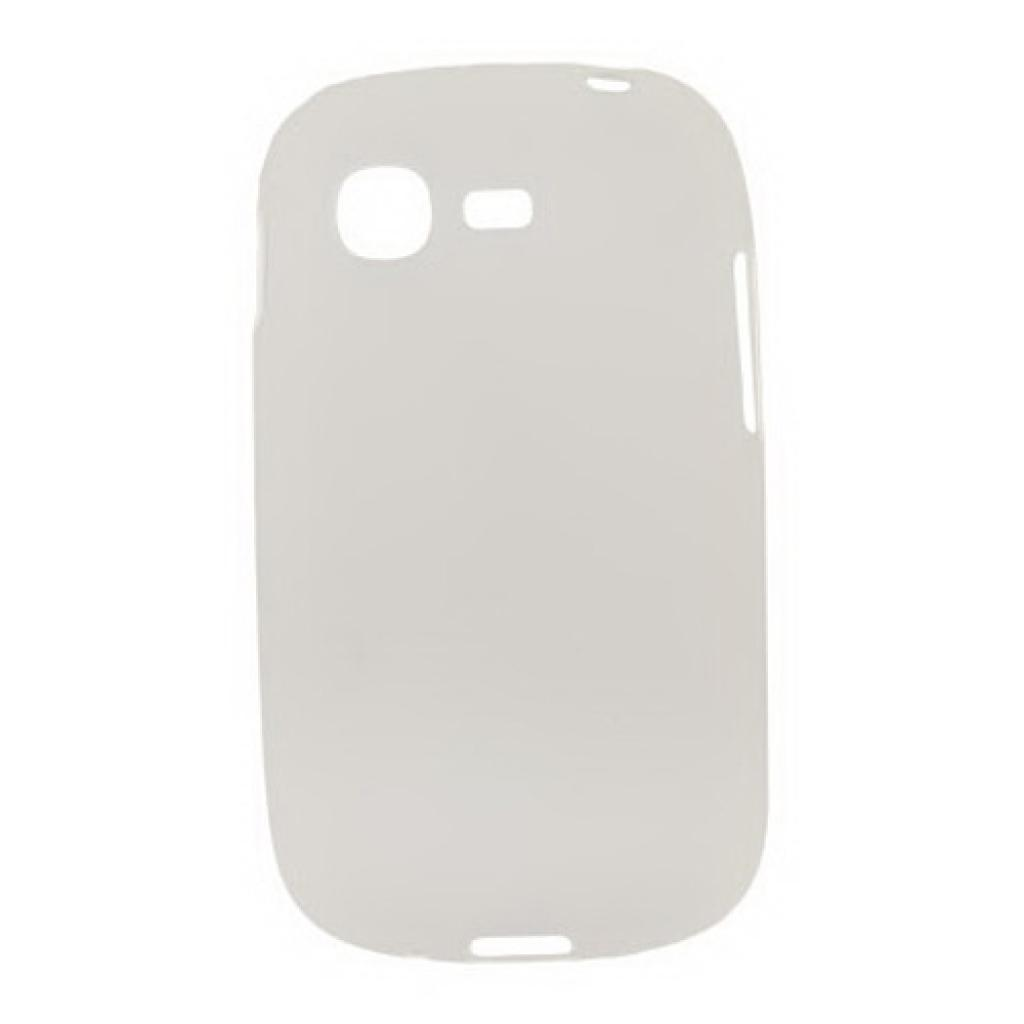 Чехол для моб. телефона Drobak для Samsung S5312 Galaxy Pocket Neo /Elastic PU/White Clear (216044)