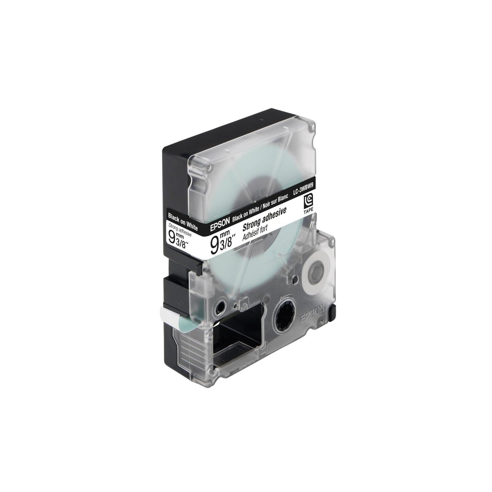 Лента для принтера этикеток EPSON Labelworks LC-3WBW9 (C53S624406)