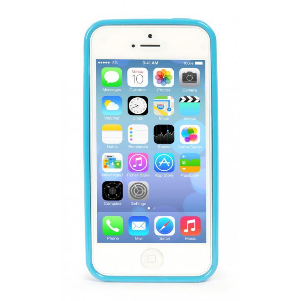 Чехол для моб. телефона Tucano iPhone 5С /Velo/Light blue (IPHCV-Z) изображение 2