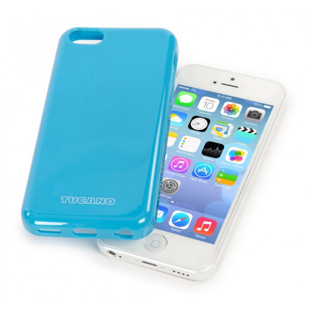 Чехол для моб. телефона Tucano iPhone 5С /Velo/Light blue (IPHCV-Z) изображение 4