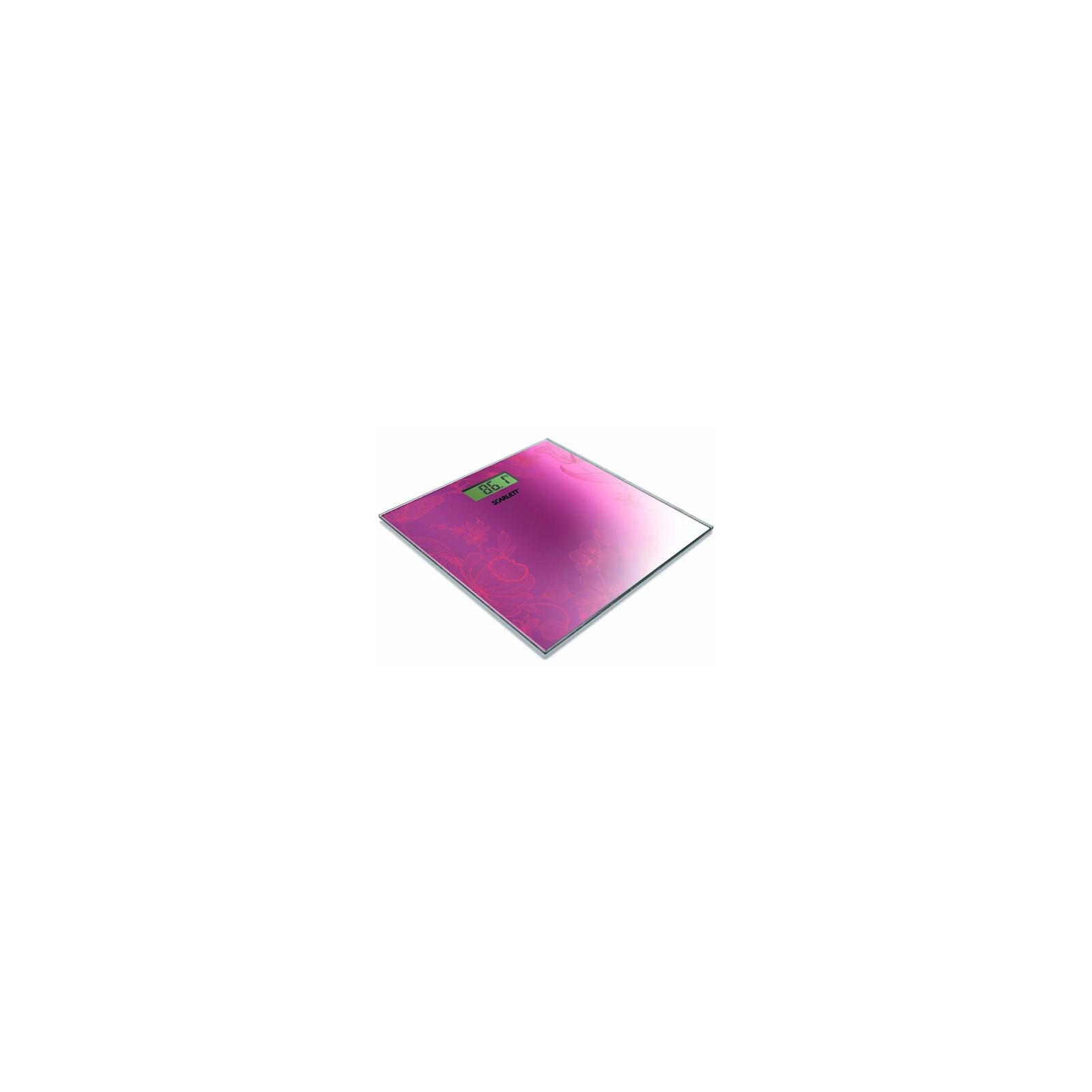 Весы напольные SCARLETT SC-215 pink