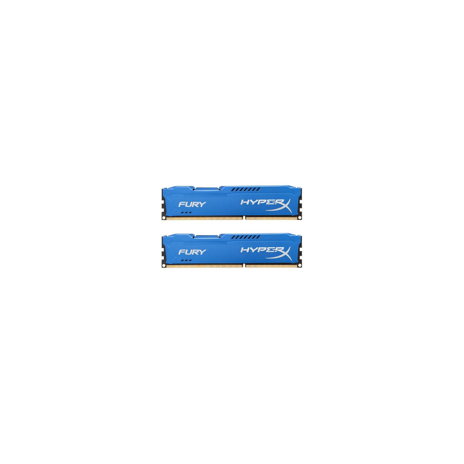 Модуль памяти для компьютера DDR3 16Gb (2x8GB) 1866 MHz HyperX Fury Blu Kingston (HX318C10FK2/16)
