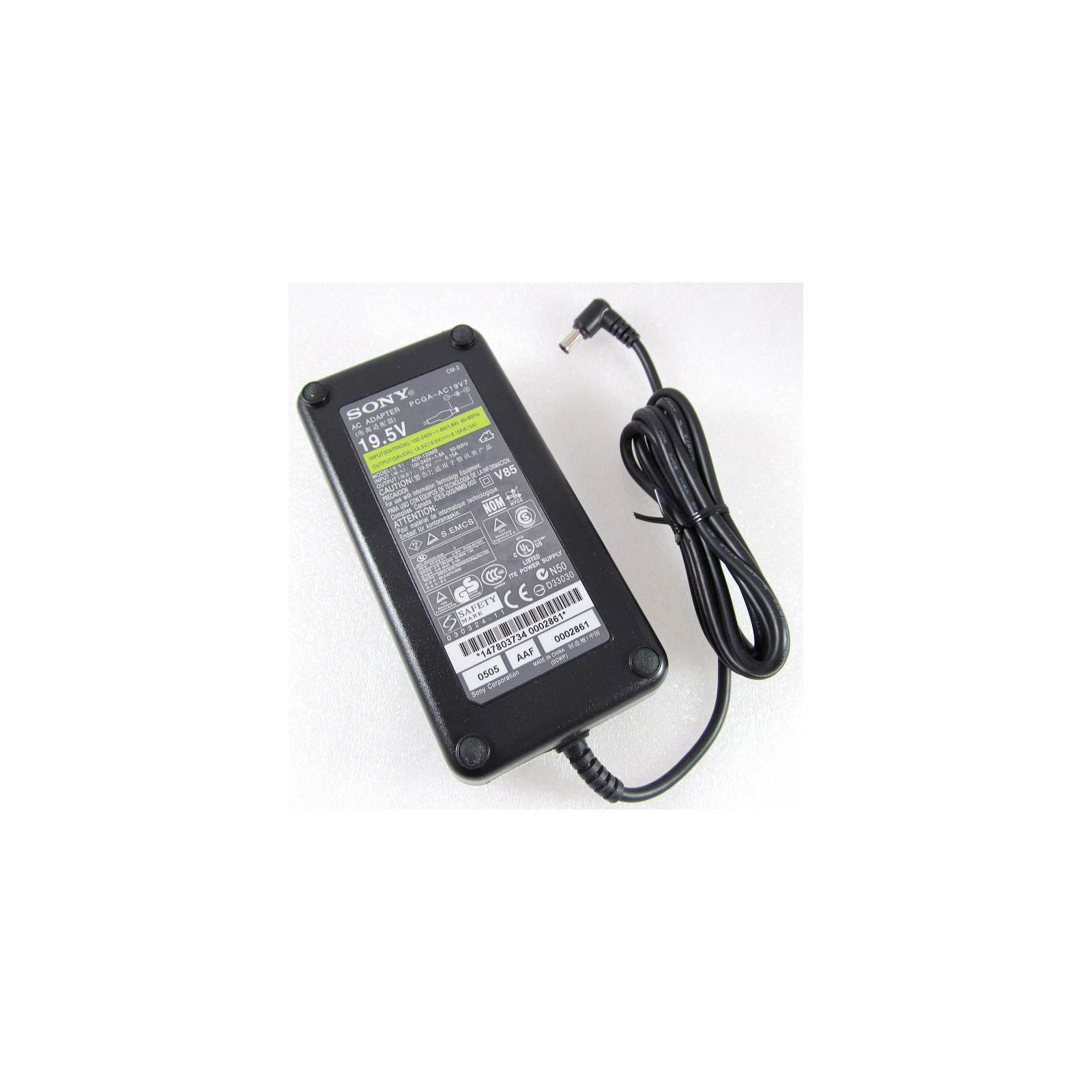 Блок питания к ноутбуку SONY 120W 19.5V 6.15A разъем 6.5/4.4(pin inside) (ADP-120MB / PCGA-AC19V7)