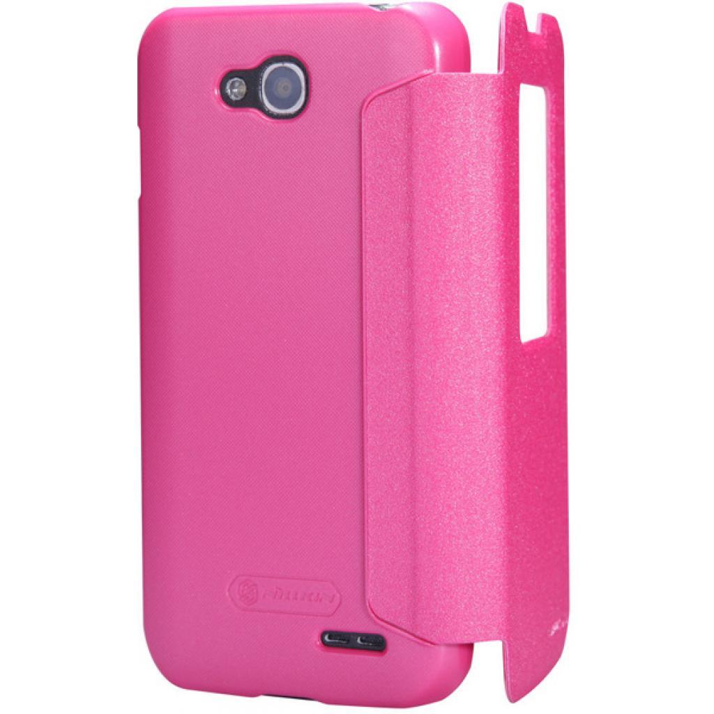 Чехол для моб. телефона NILLKIN для LG L90 Dual /Spark/ Leather/Red (6154934) изображение 4