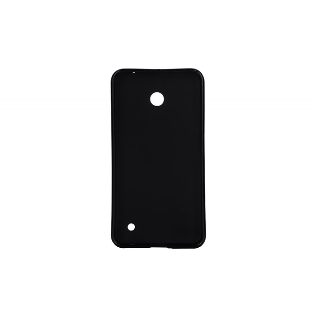 Чехол для моб. телефона Drobak для Nokia Lumia 630 Black /Elastic PU (215120) изображение 2