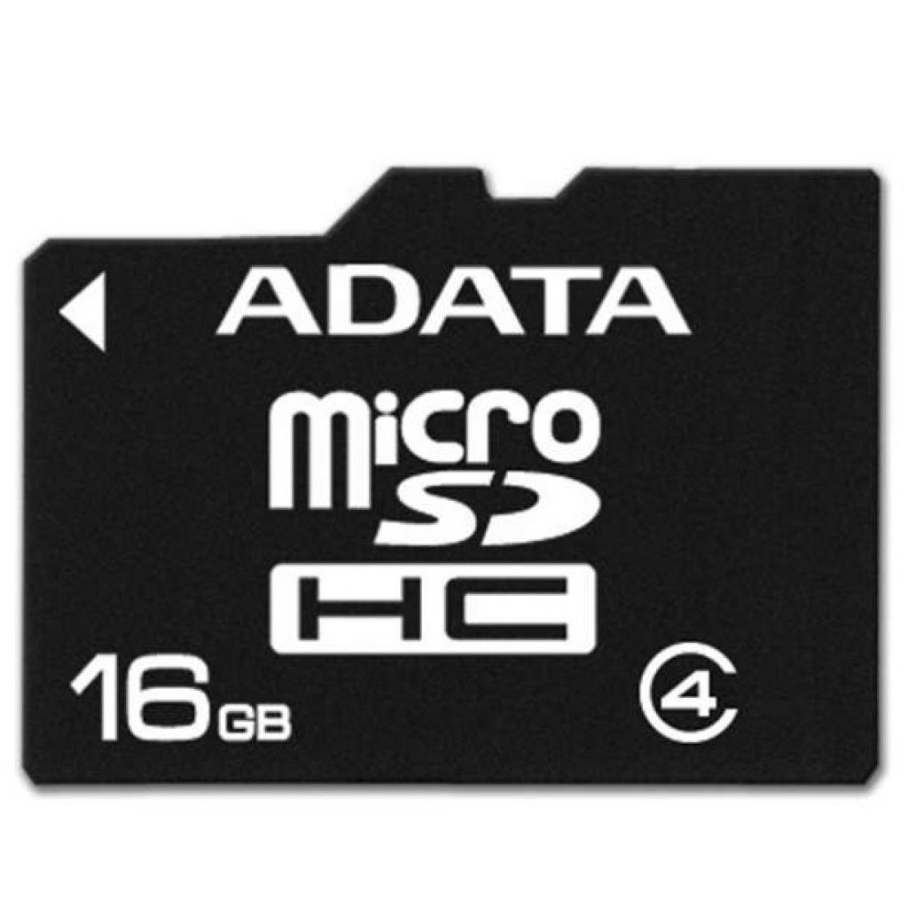 Карта памяти ADATA 16GB microSDHC Class 4 (AUSDH16GCL4-RA1) изображение 2