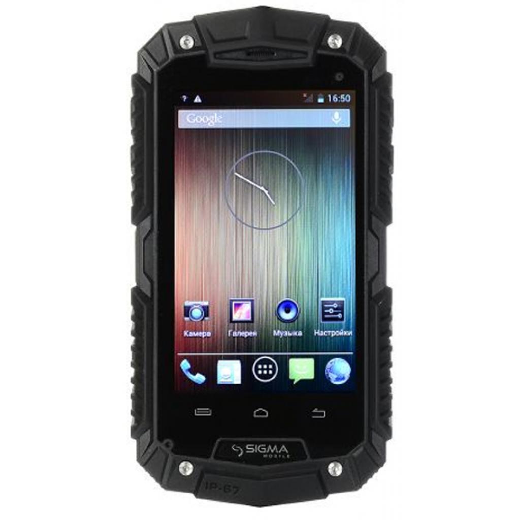 Мобильный телефон Sigma X-treme PQ16 Dual Sim Black (4827798373828)