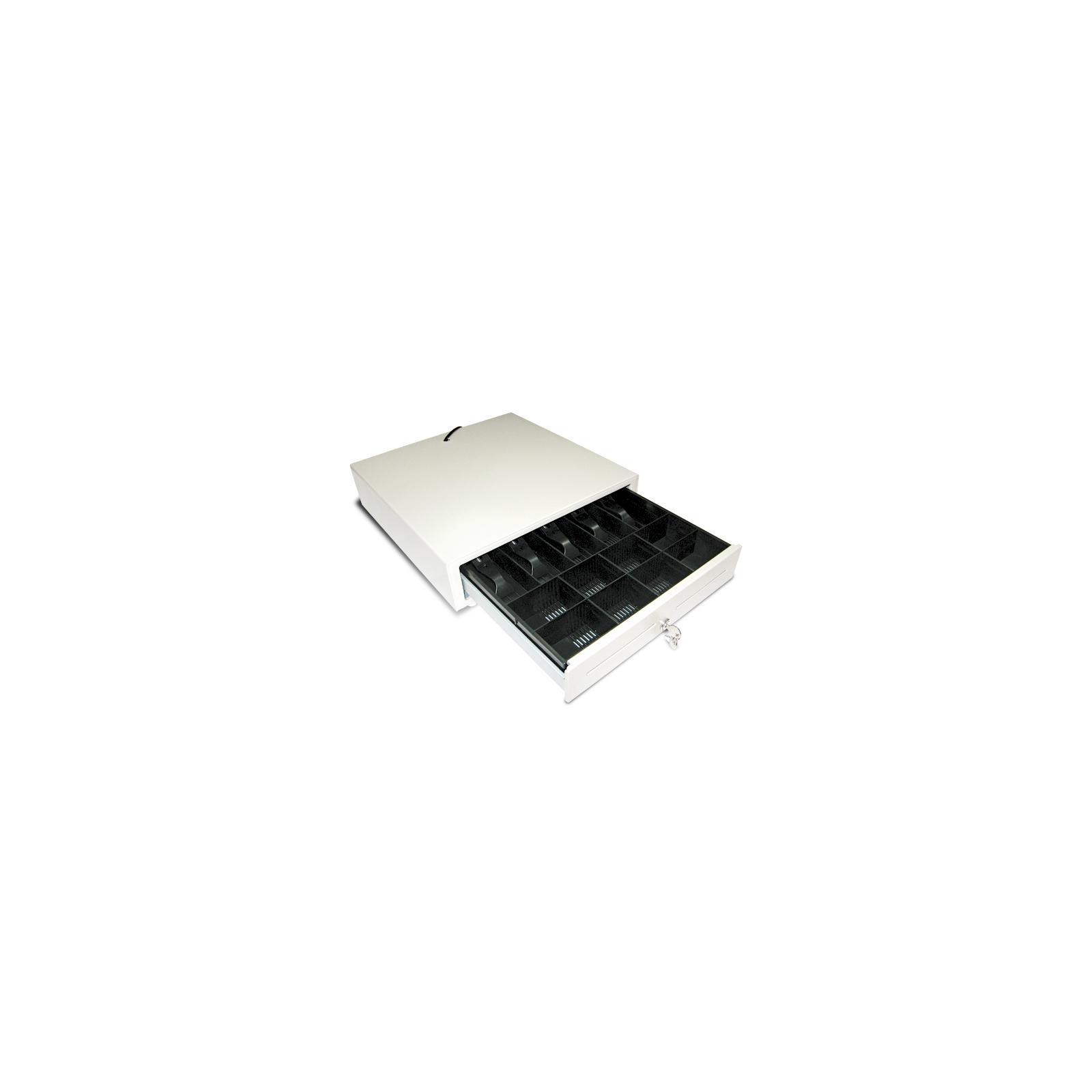Денежный ящик Unisystem UNIQ-CB41.01 White (01359) изображение 2