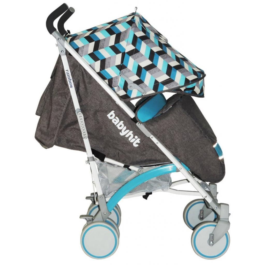 Коляска BabyHit Rainbow D200 Blue Diamond (14036) изображение 4