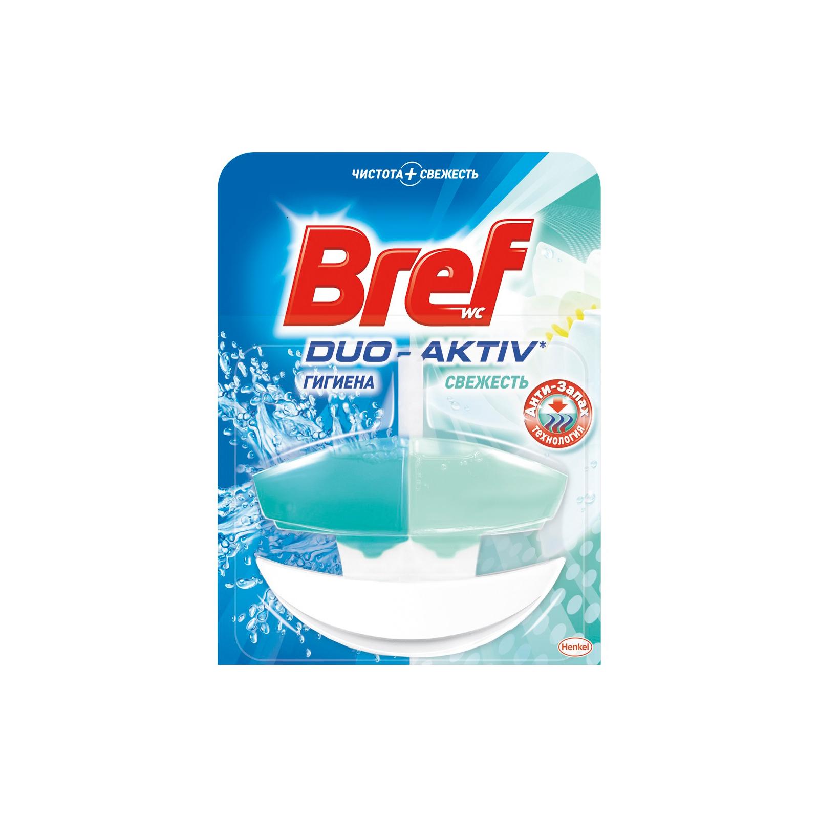 Туалетный блок Bref Duo-Aktiv Анти-Запах 50 мл (9000100967457)