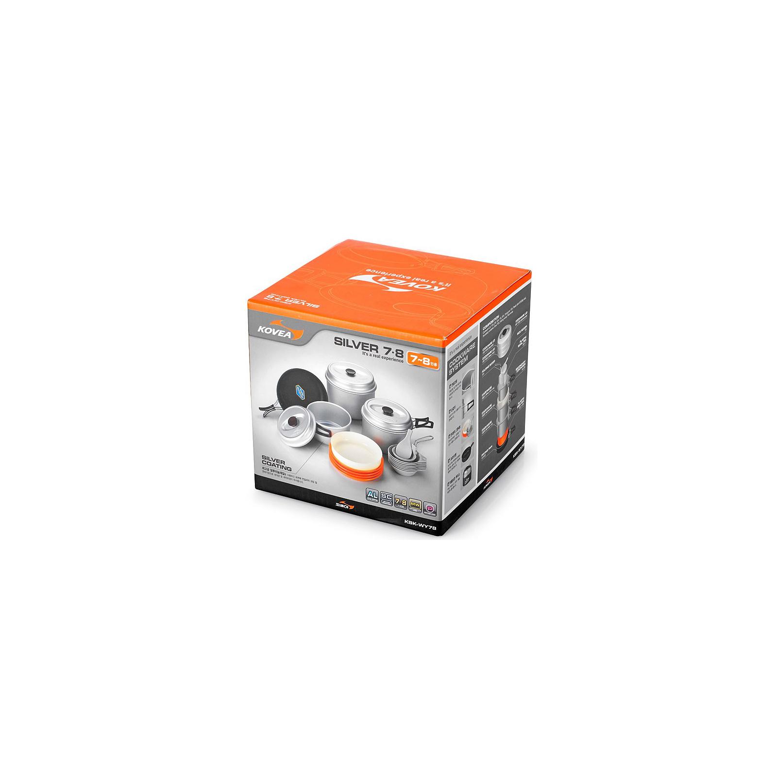 Набор туристической посуды Kovea Silver 78 KSK-WY78 (8809000508460) изображение 4