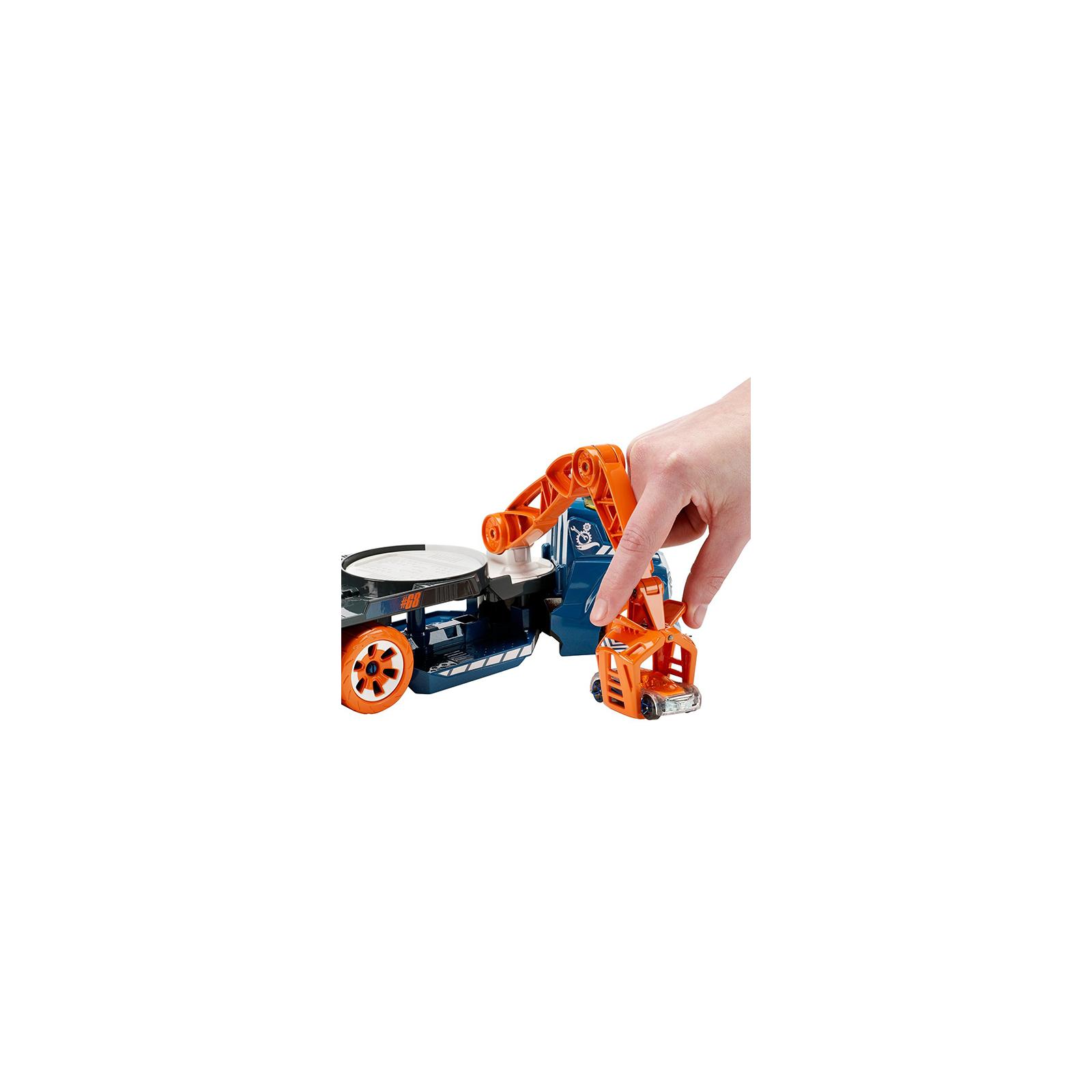 Машина Hot Wheels Эвакуатор со звуковыми и световыми эффектами (DJC69) изображение 3