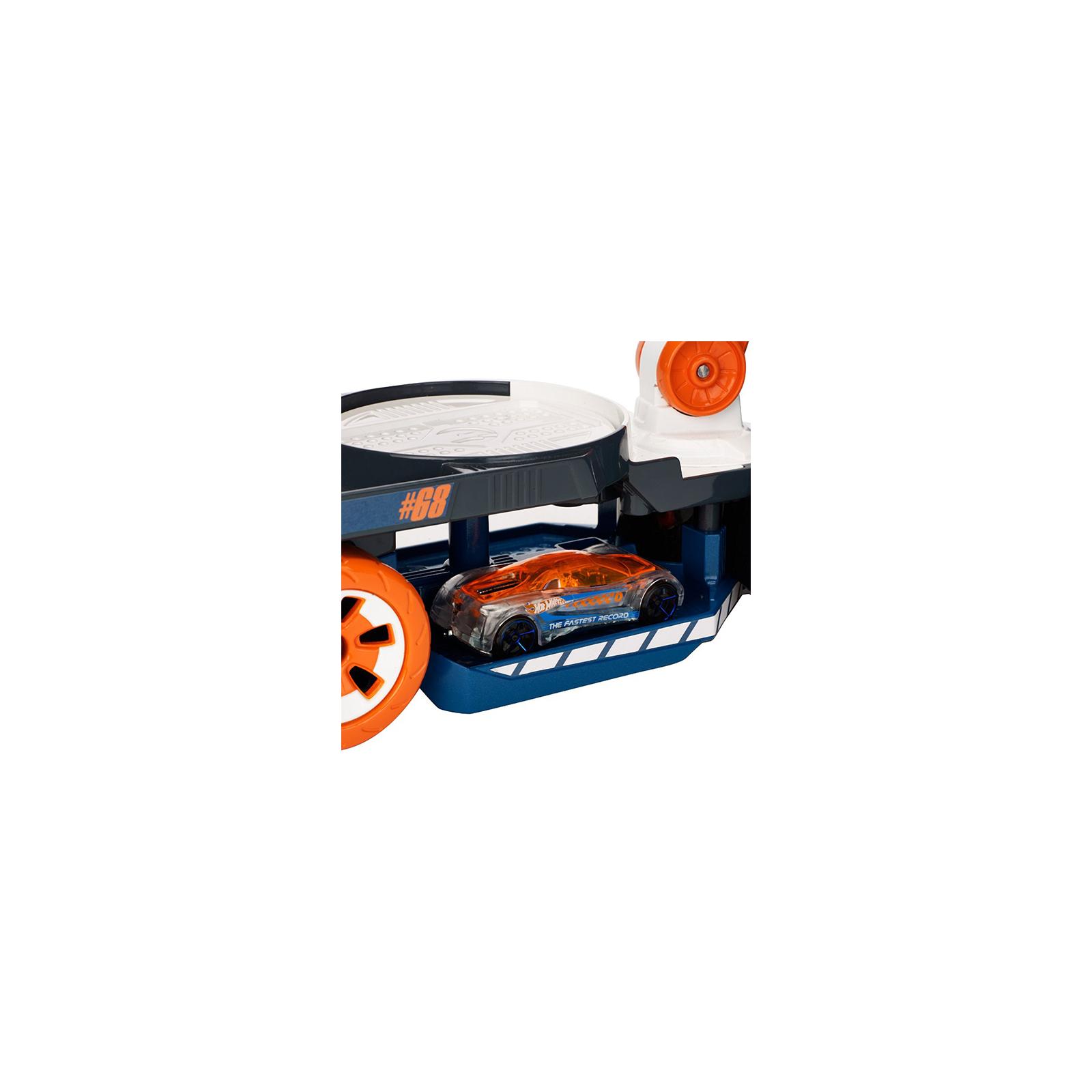 Машина Hot Wheels Эвакуатор со звуковыми и световыми эффектами (DJC69) изображение 4