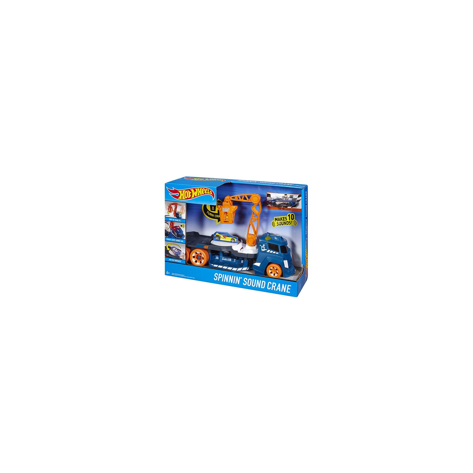 Машина Hot Wheels Эвакуатор со звуковыми и световыми эффектами (DJC69)