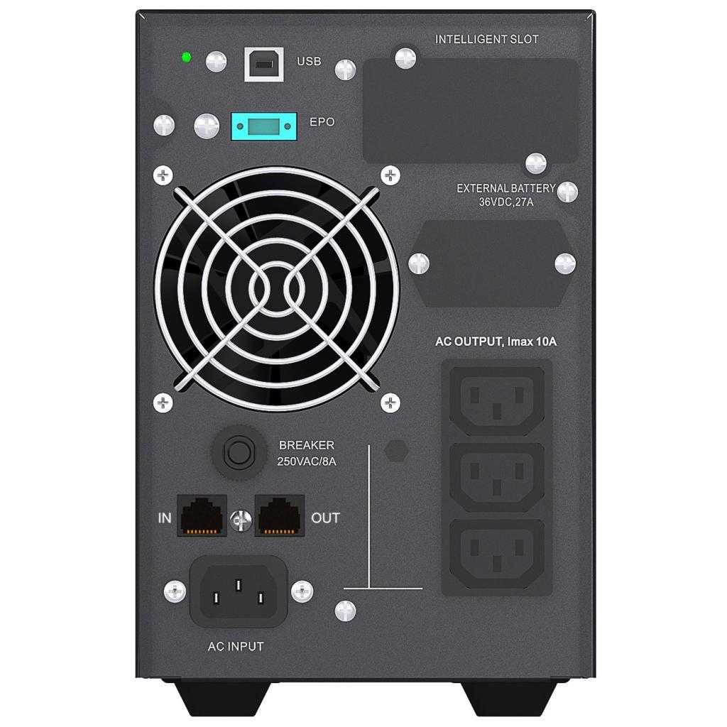 Источник бесперебойного питания Mustek PowerMust 1080 Online LCD (98-ONC-X1008) изображение 2
