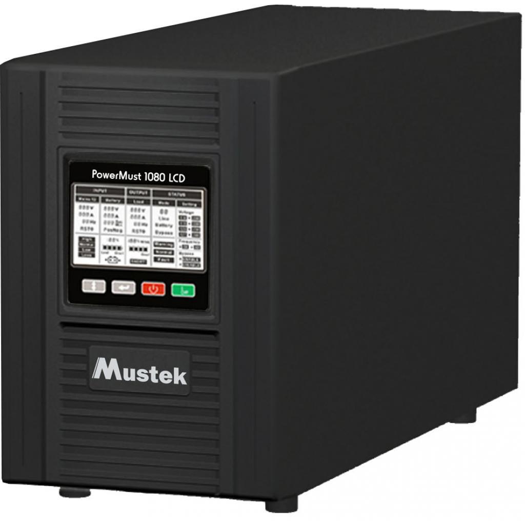 Источник бесперебойного питания Mustek PowerMust 1080 Online LCD (98-ONC-X1008)