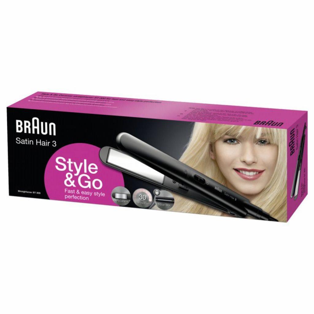 Выпрямитель для волос BRAUN SatinHair3 ST300 изображение 4