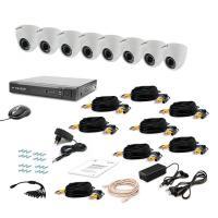 Комплект видеонаблюдения Tecsar 8IN-3M DOME (9577)