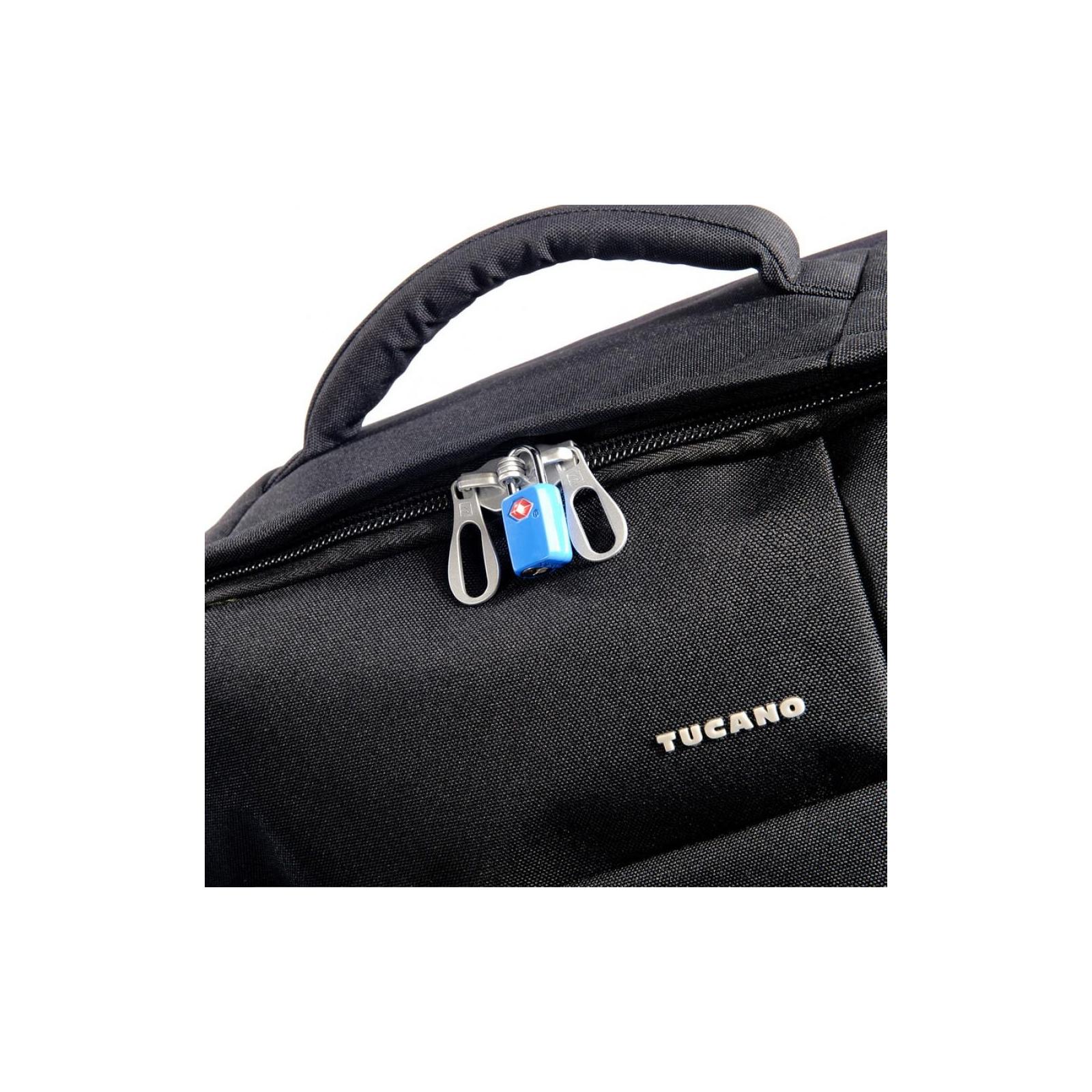 "Рюкзак для ноутбука Tucano 17.3"" TUGO' L CABIN black (BKTUG-L-BK) изображение 6"