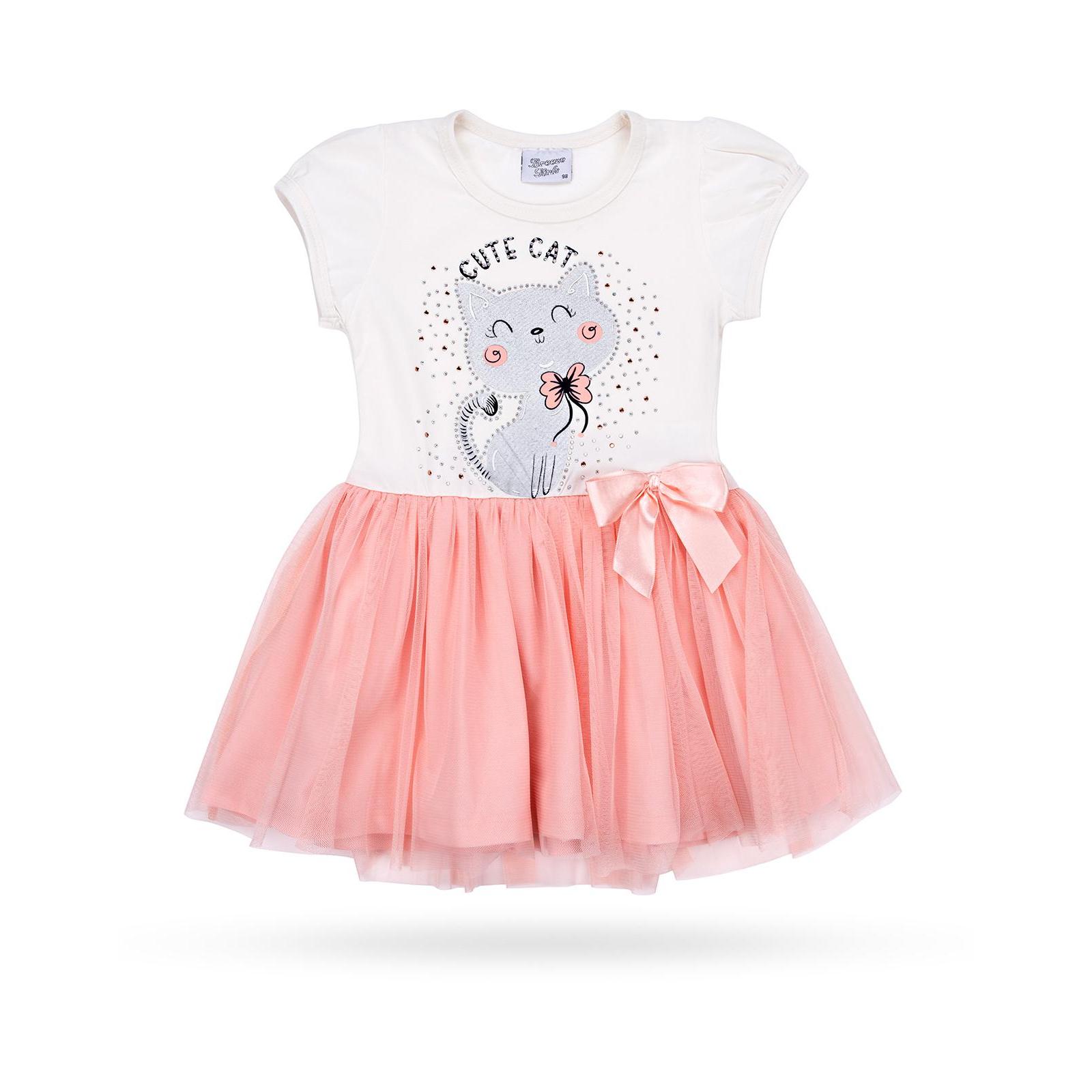 Платье Breeze с котиком (9774-104G-peach)