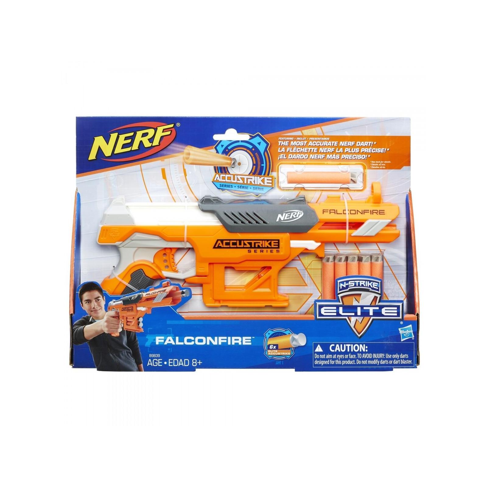 Игрушечное оружие Hasbro Бластер Аккустрайк Фалконфайр (B9839) изображение 2