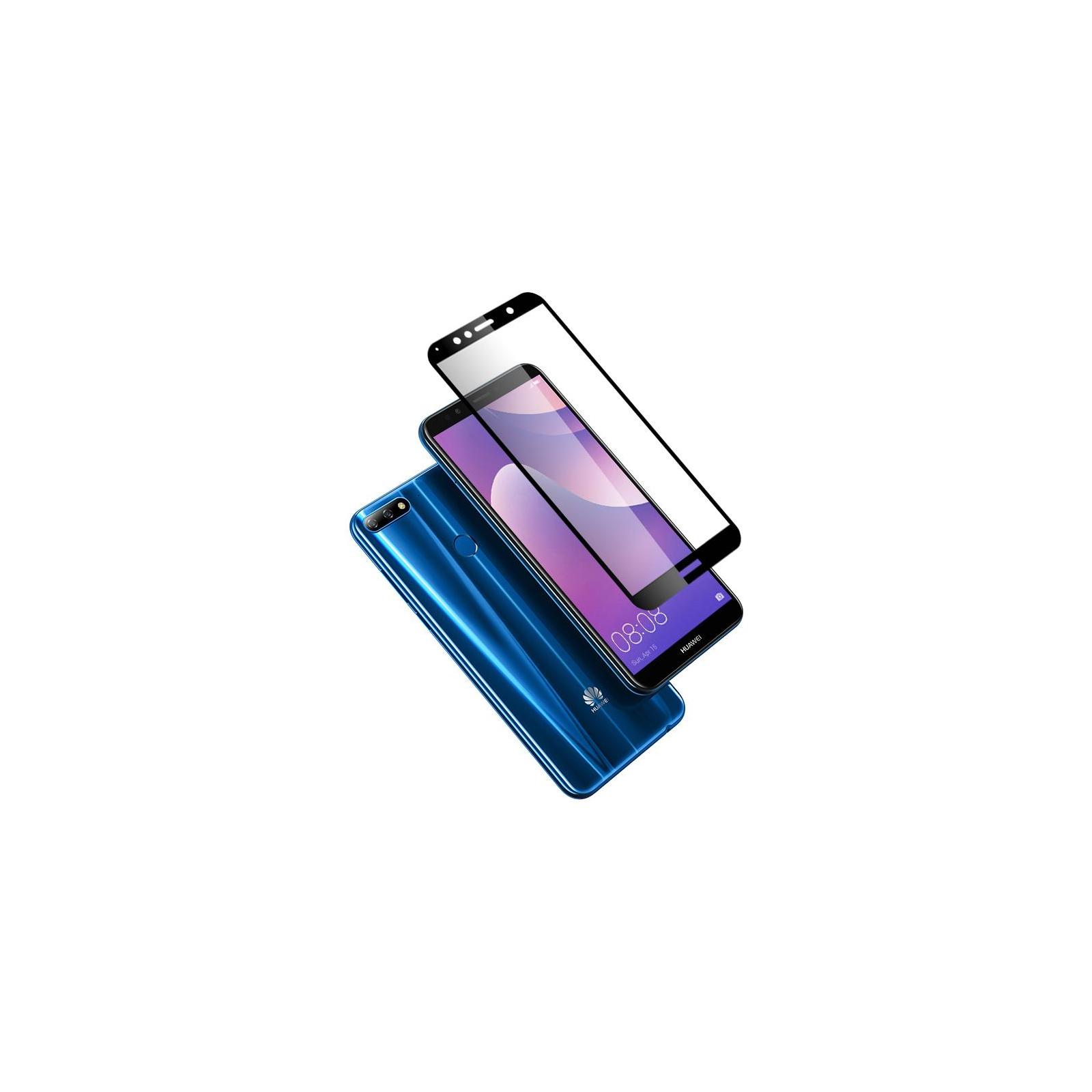 Стекло защитное Vinga для Huawei Y6 2018 (Black) (VTPGS-Y62018) изображение 2
