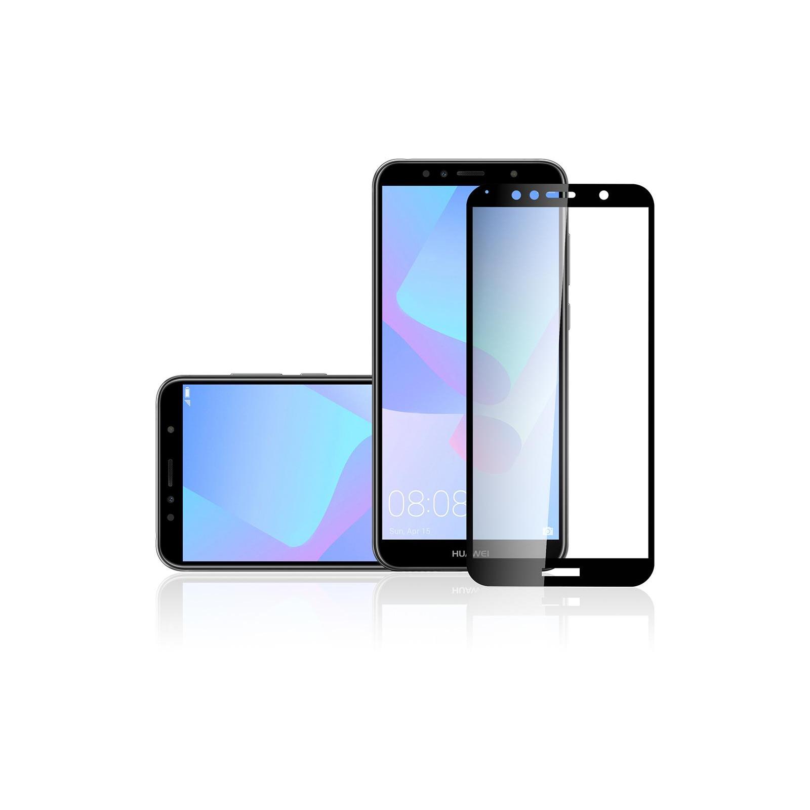 Стекло защитное Vinga для Huawei Y6 2018 (Black) (VTPGS-Y62018) изображение 3