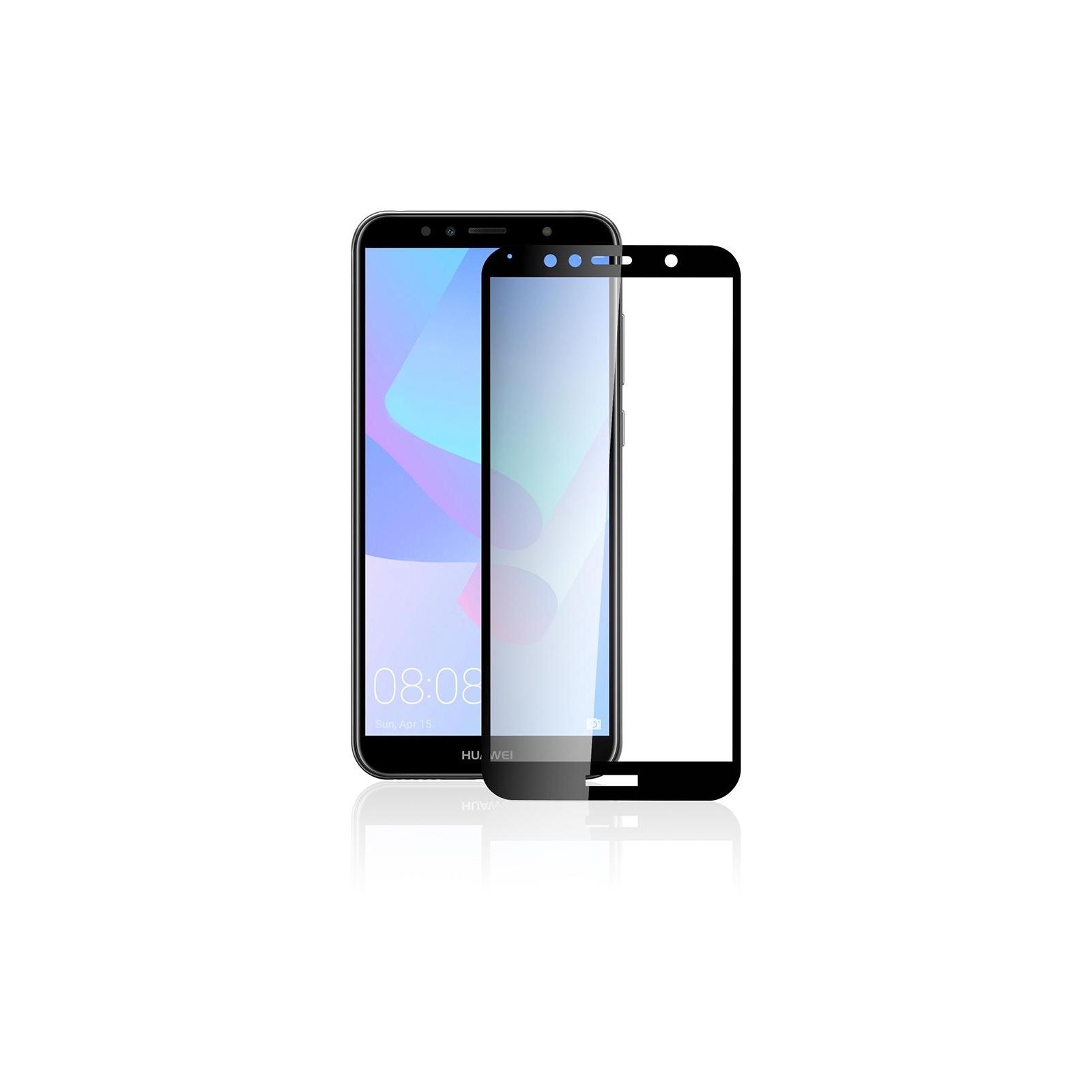 Стекло защитное Vinga для Huawei Y6 2018 (Black) (VTPGS-Y62018) изображение 4