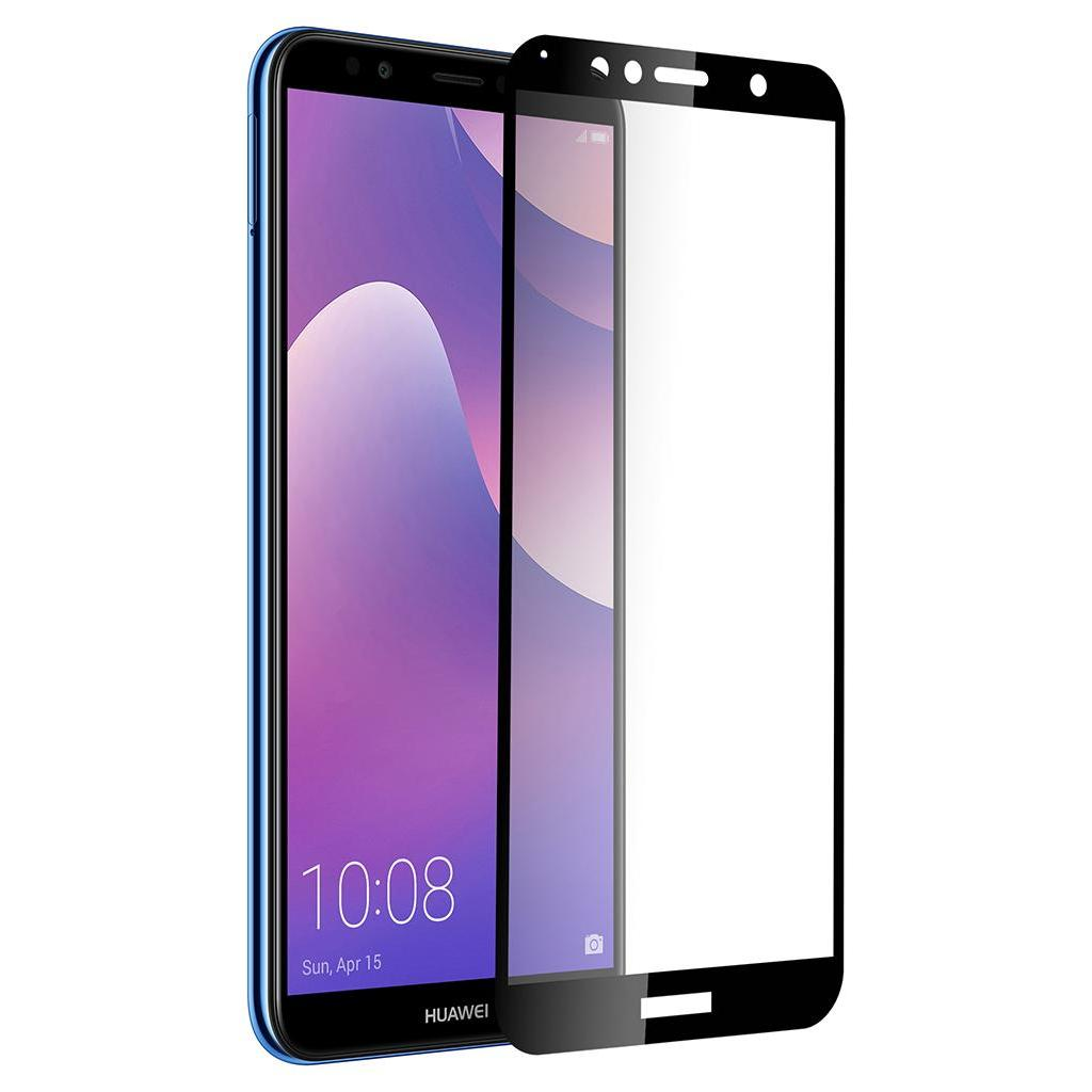 Стекло защитное Vinga для Huawei Y6 2018 (Black) (VTPGS-Y62018) изображение 5
