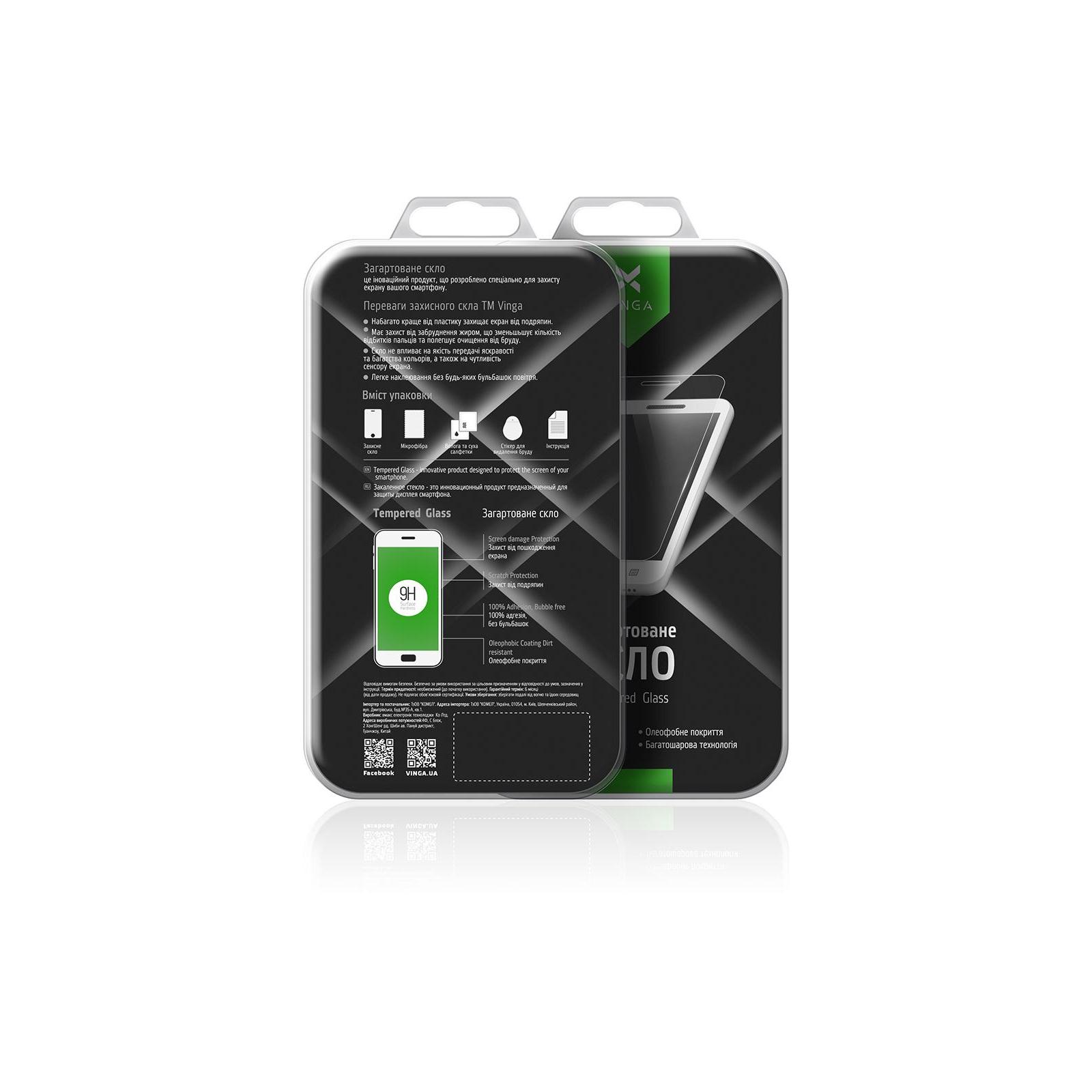 Стекло защитное Vinga для Huawei Y6 2018 (Black) (VTPGS-Y62018) изображение 7