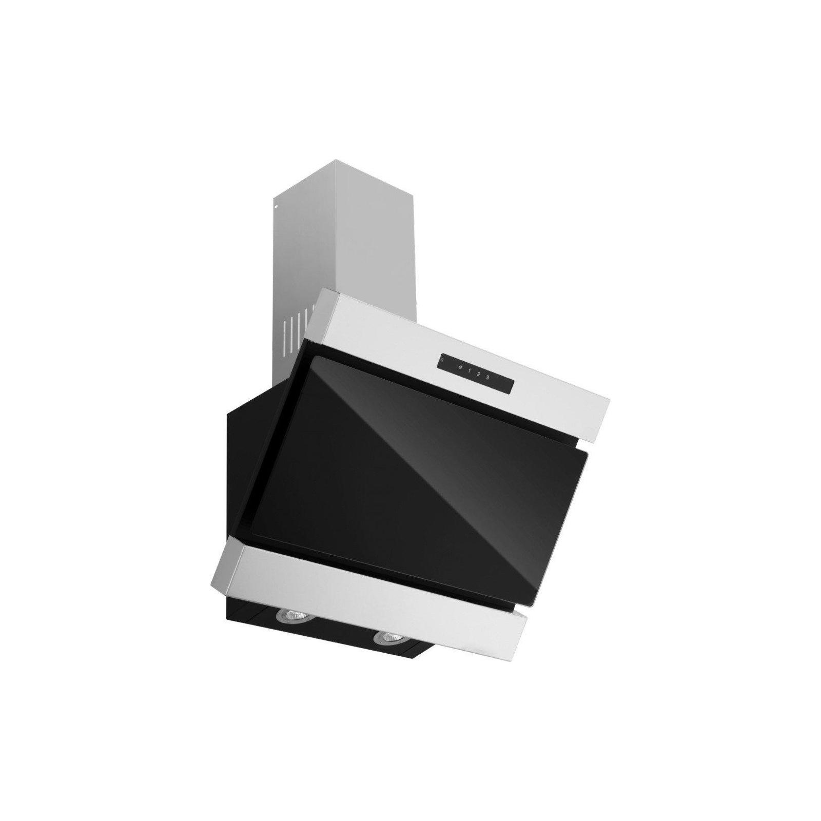 Вытяжка кухонная ZIRTAL FORTE 60 BL