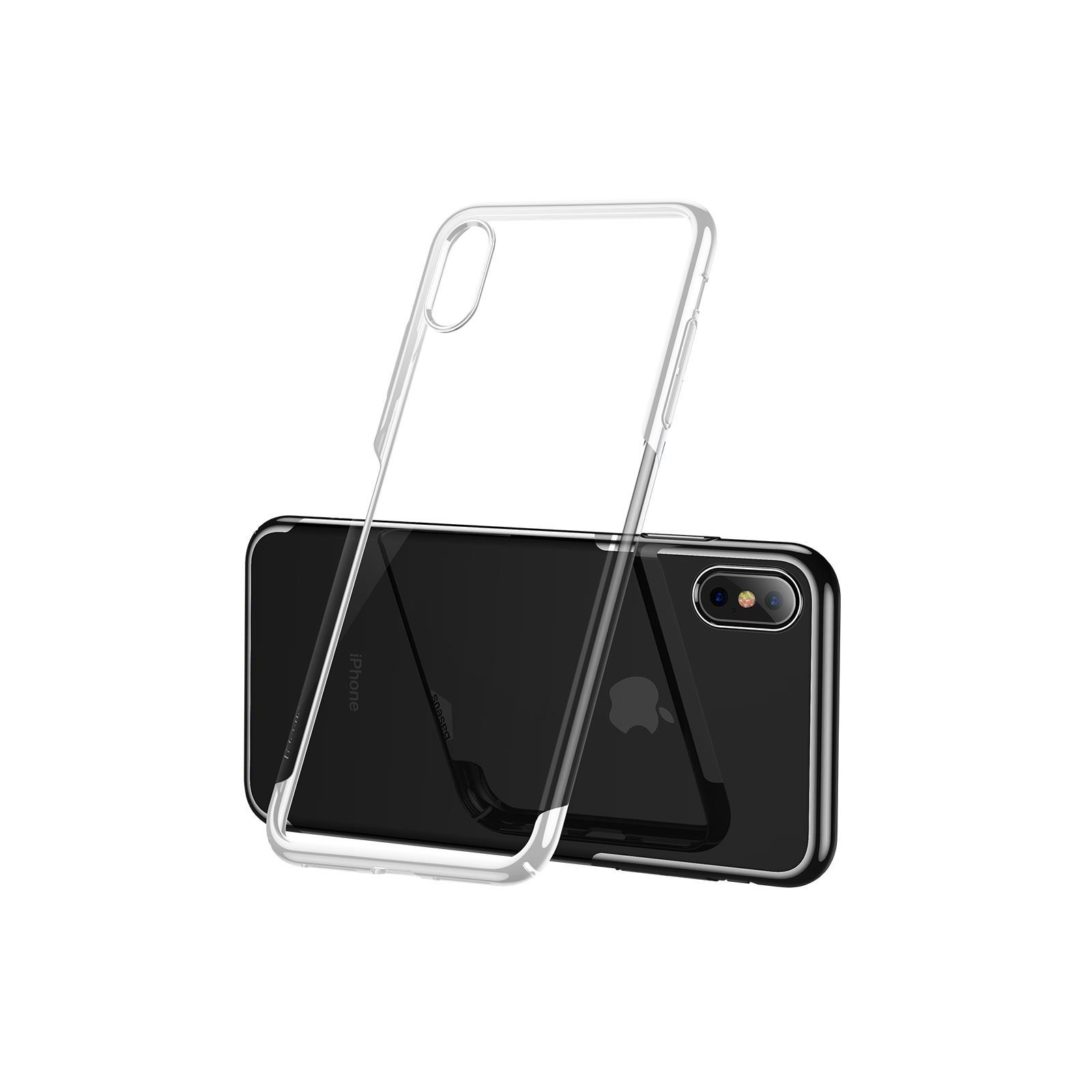 Чохол до моб. телефона Baseus iPhone XS Glitter , White (WIAPIPH58-DW02) зображення 2
