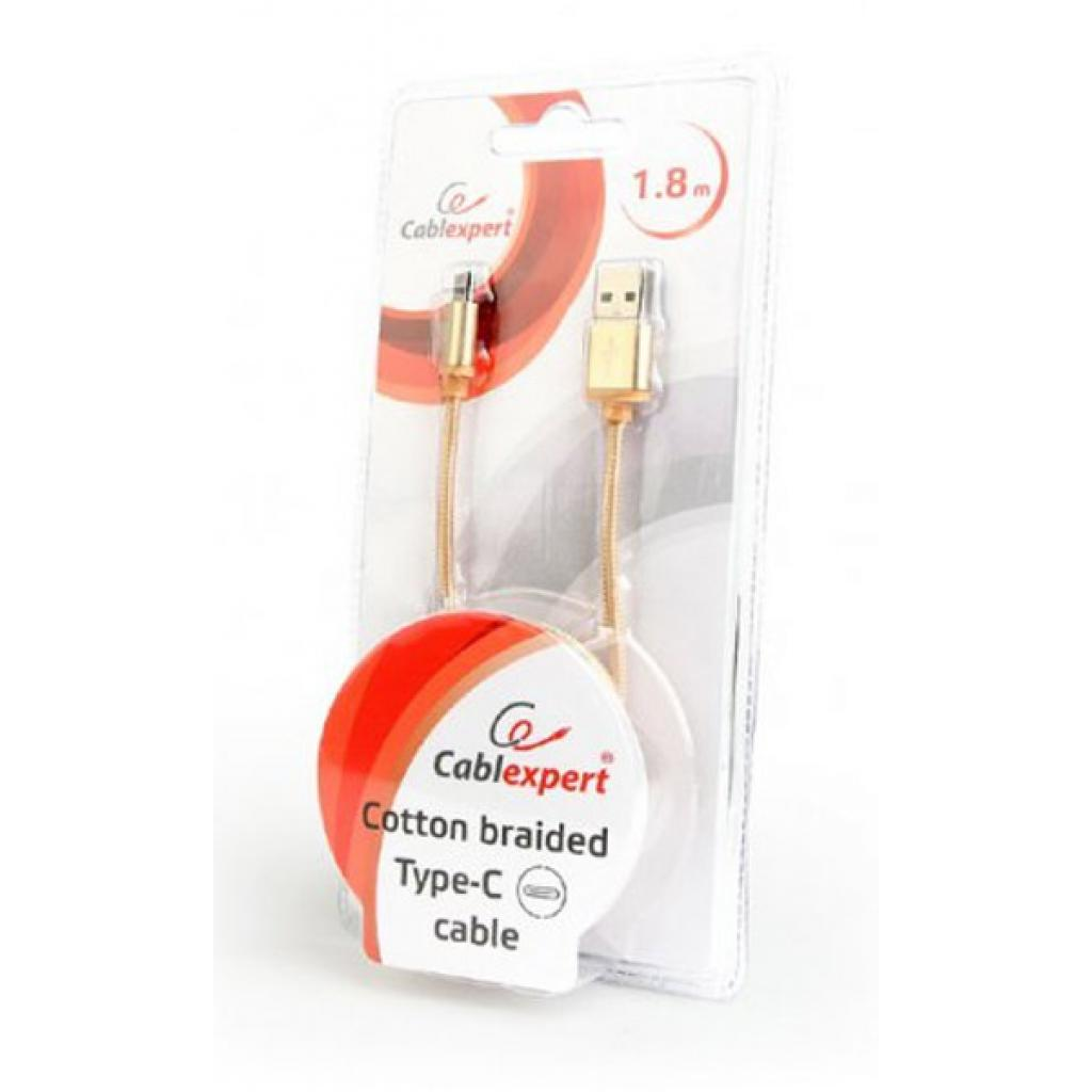 Дата кабель USB 2.0 AM to Type-C 1.0m Cablexpert (CCB-mUSB2B-AMCM-6-G) изображение 3