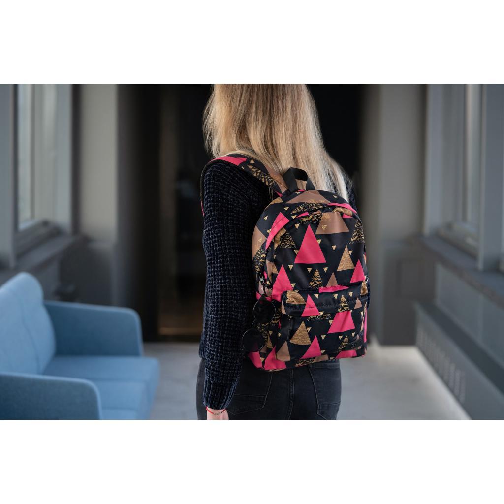 "Рюкзак для ноутбука 2E 13"" TeensPack Triangles, black (2E-BPT6114BK) зображення 10"