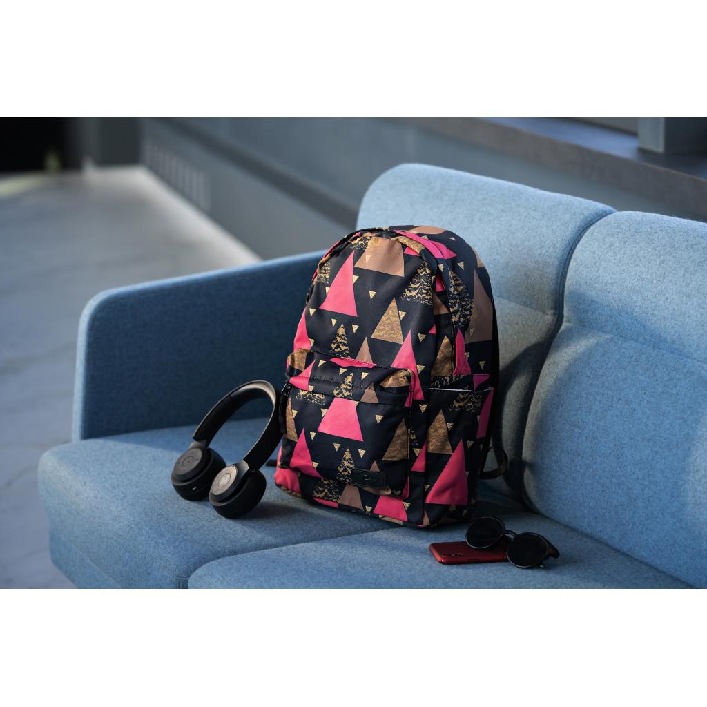 "Рюкзак для ноутбука 2E 13"" TeensPack Triangles, black (2E-BPT6114BK) зображення 11"