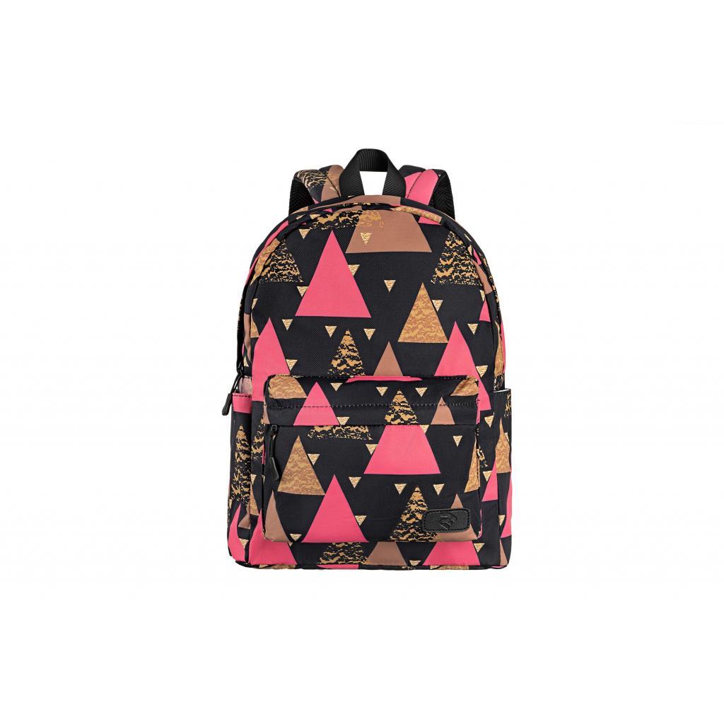 "Рюкзак для ноутбука 2E 13"" TeensPack Triangles, black (2E-BPT6114BK) зображення 2"