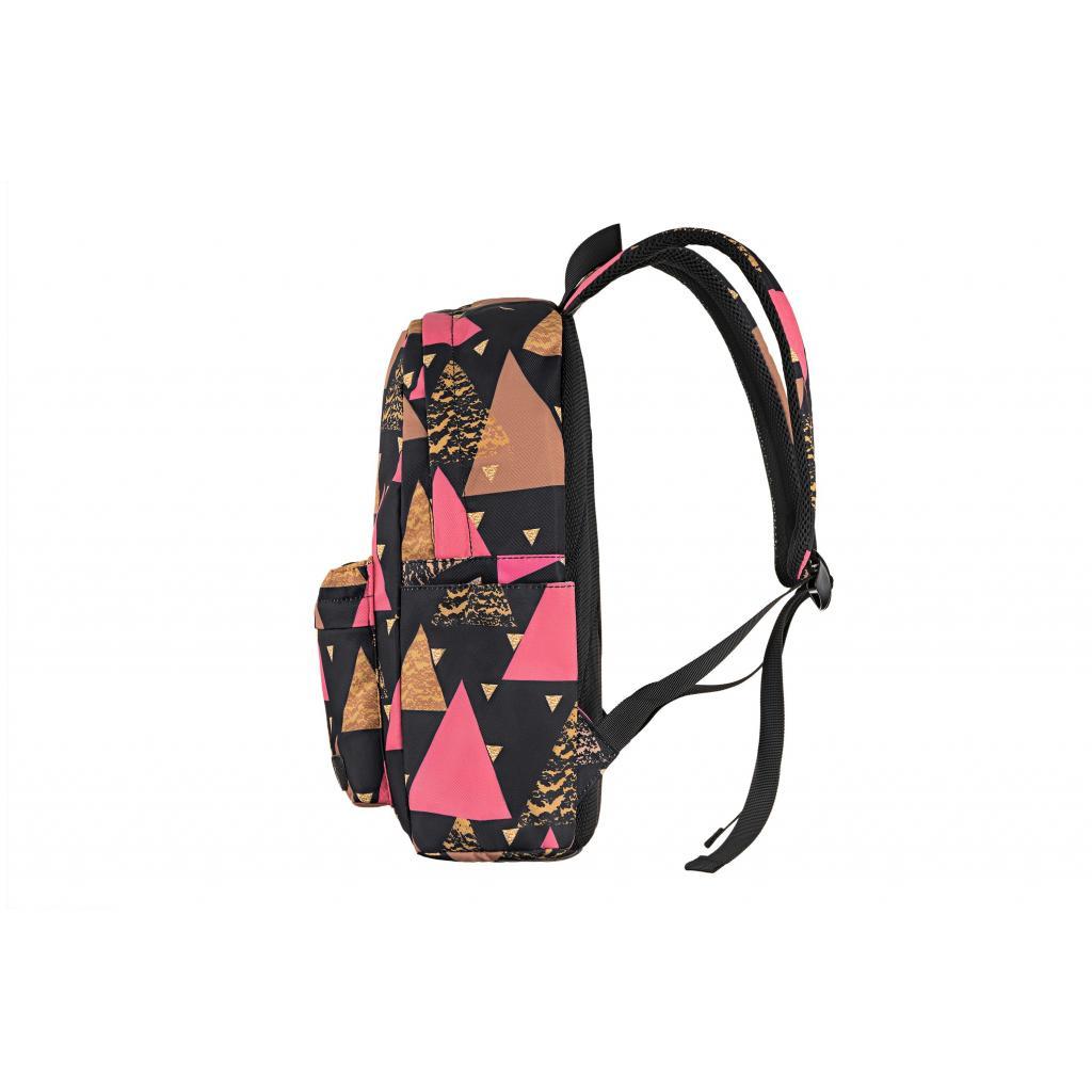 "Рюкзак для ноутбука 2E 13"" TeensPack Triangles, black (2E-BPT6114BK) зображення 4"
