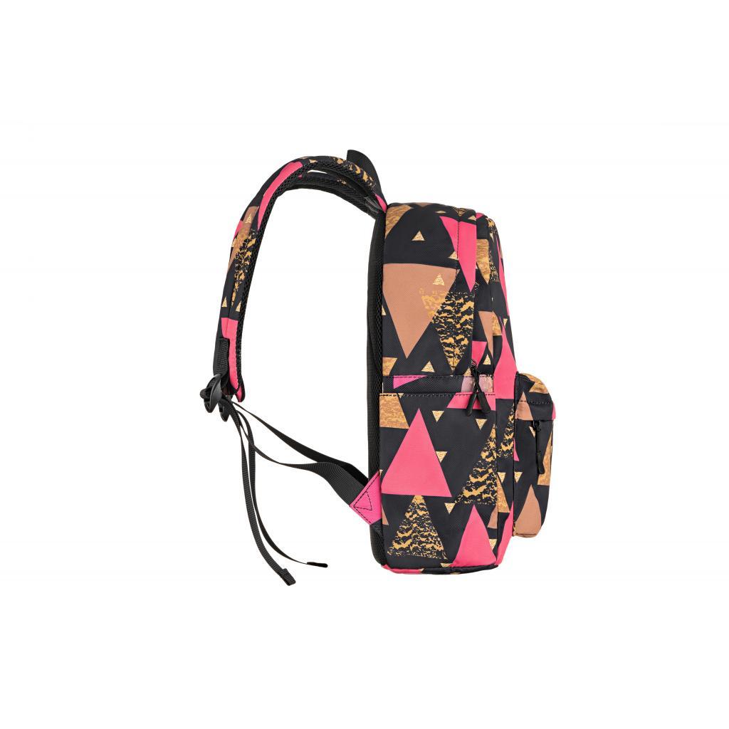 "Рюкзак для ноутбука 2E 13"" TeensPack Triangles, black (2E-BPT6114BK) зображення 5"