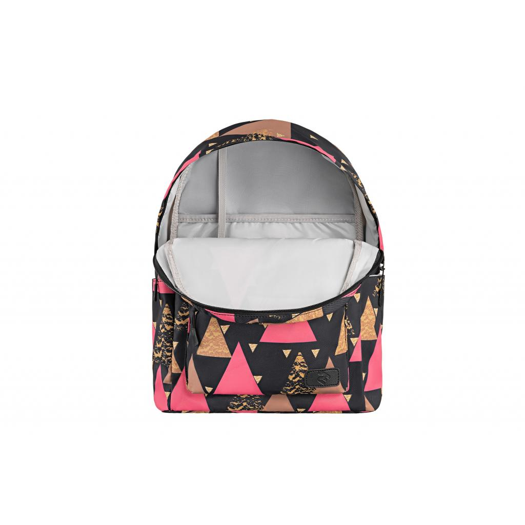 "Рюкзак для ноутбука 2E 13"" TeensPack Triangles, black (2E-BPT6114BK) зображення 6"