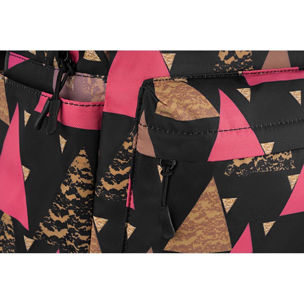 "Рюкзак для ноутбука 2E 13"" TeensPack Triangles, black (2E-BPT6114BK) зображення 8"