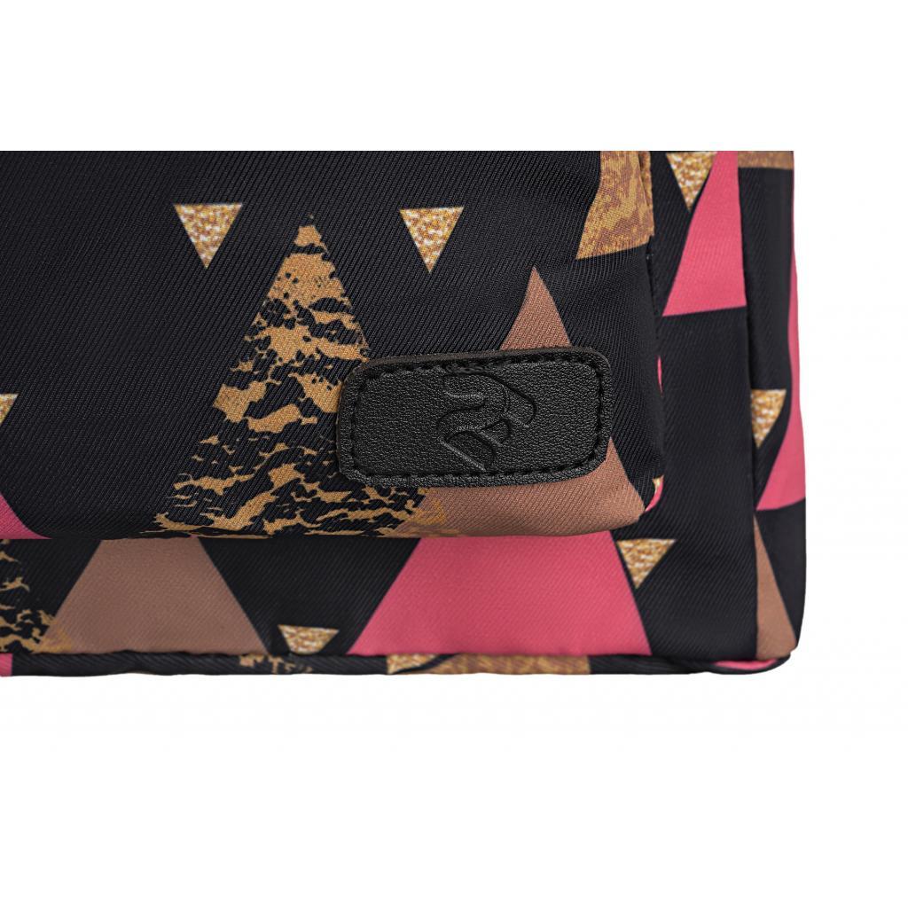"Рюкзак для ноутбука 2E 13"" TeensPack Triangles, black (2E-BPT6114BK) зображення 9"