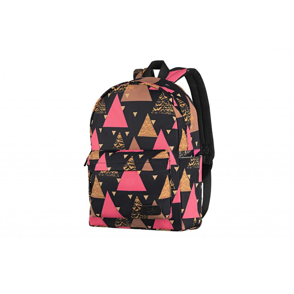 "Рюкзак для ноутбука 2E 13"" TeensPack Triangles, black (2E-BPT6114BK)"