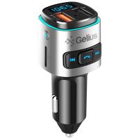 FM модулятор Gelius Pro RGB-QC GP-FMT040 Black/Silver