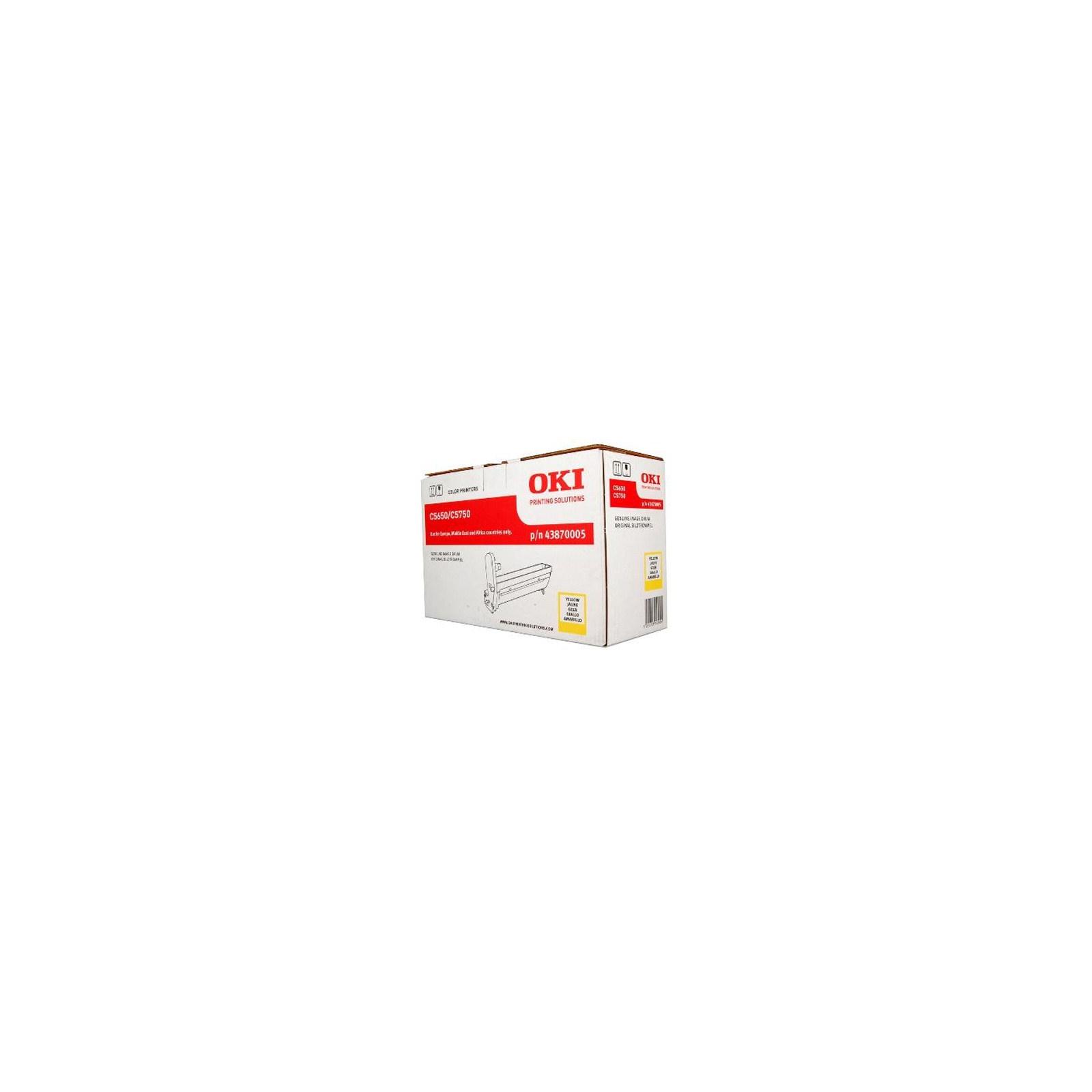 Фотокондуктор OKI C5650/5750 Yellow (43870005)