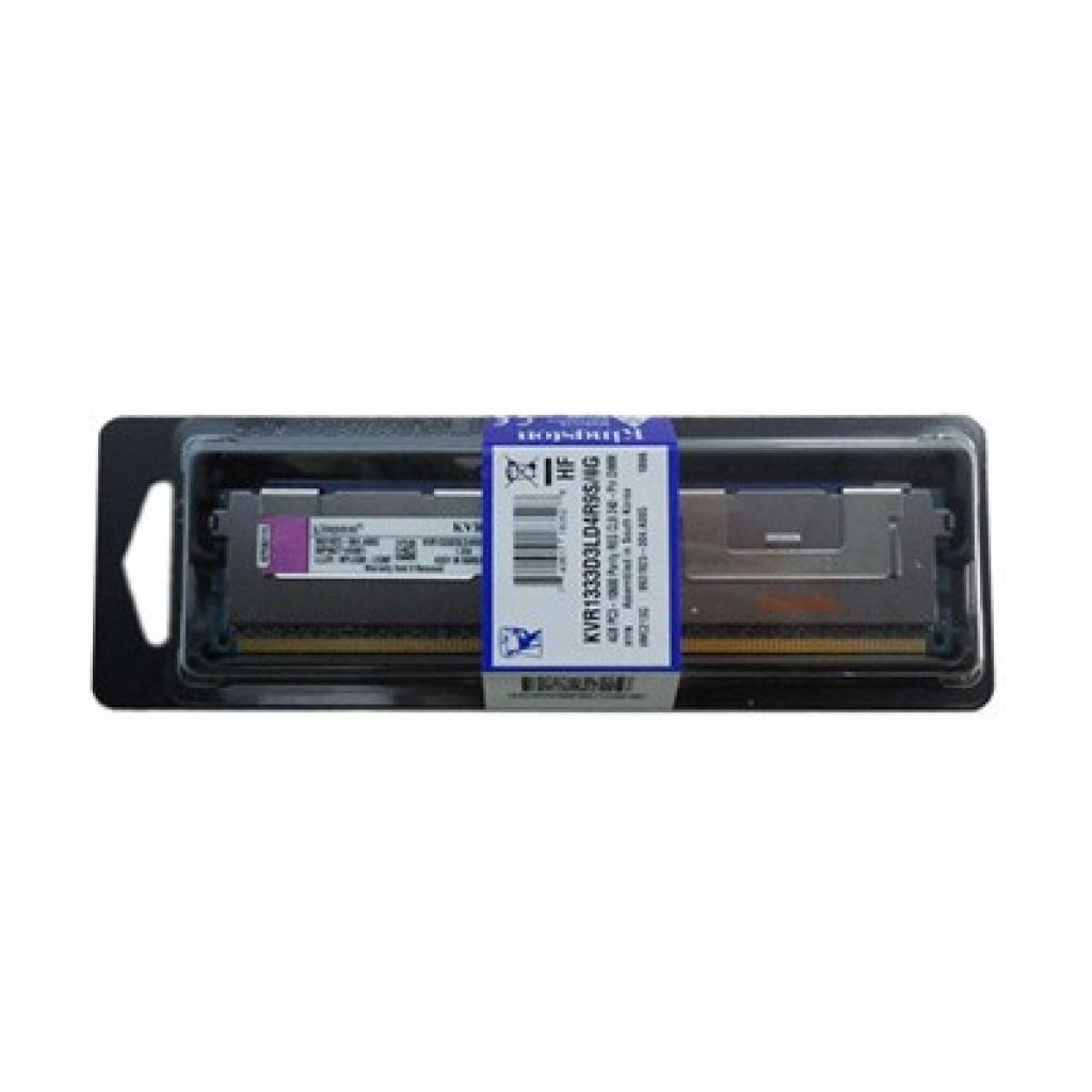 Модуль памяти для сервера DDR3 4096Mb Kingston (KVR1333D3LD4R9S/4G)