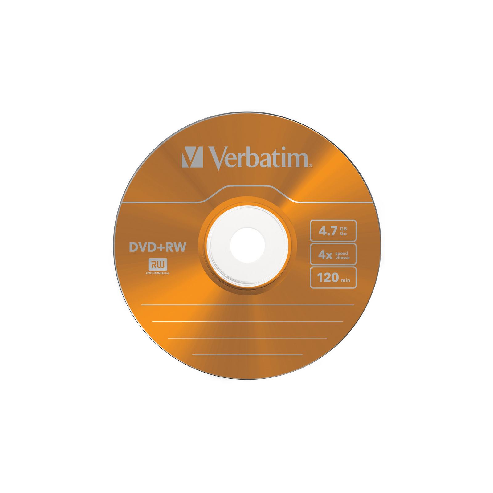 Диск DVD Verbatim 4.7Gb 4x SlimCase 5шт Color (43297) изображение 5